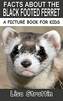 Facts About The Black Footed Ferret (A Picture Book For Kids, Vol 28) by [Lisa Strattin]