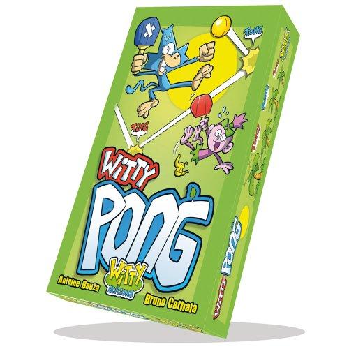 Witty Editions - WIT01 - Jeu de Société - Witty Pong