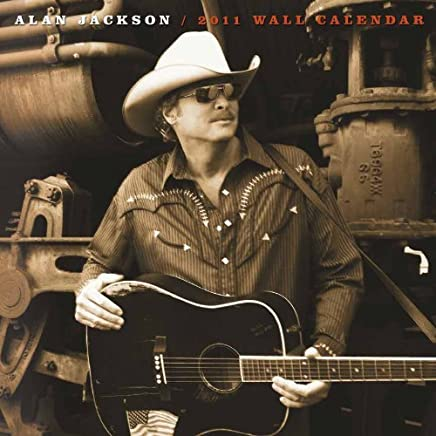 2011 Alan Jackson Calendar by NMR (2010-09-01)