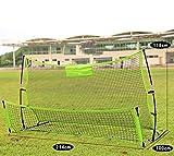 CWYPC Porterias De Fútbol, Set De Fútbol Tiro De Fútbol Juguetes De Fútbol Varillas Fibra De Vidrio Quick Play Sport En Interiores Y Exteriores Completa Kit De
