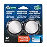 Fit System C0400 Driver Passenger Side Stick-On Adjustable Blind Spot Mirrors – Pack of 2, other