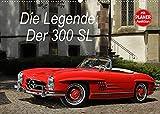 Die Legende: 300 SL (Wandkalender 2022 DIN A2 quer): Der legendäre Mercedes 300 SL in opulenten Bildern (Geburtstagskalender, 14 Seiten )