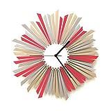 La Estrella - 41 cm / 59 cm reloj de pared hecho a mano elegante