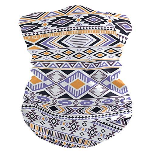 Máscara de tela para mujer, pañuelos multifuncionales, patrón de costura, unisex, diseño bohemio, para hombre y mujer, para uso al aire libre, diadema para la cabeza, toalla facial lavable y bolsillo interior