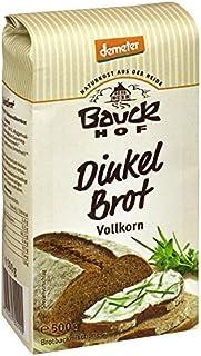 Bauckhof Bio Bauck Demeter Dinkelbrot 12 x 500 gr