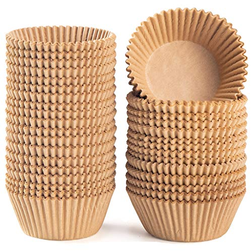 Caperci Standard Natural Cupcake Liners 500 Count