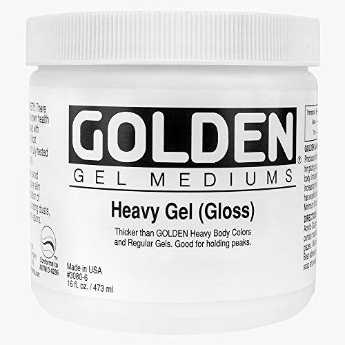 Goldene 0003050-6 16 Unzen - 473ml - Schwere Gloss Gel - Medium