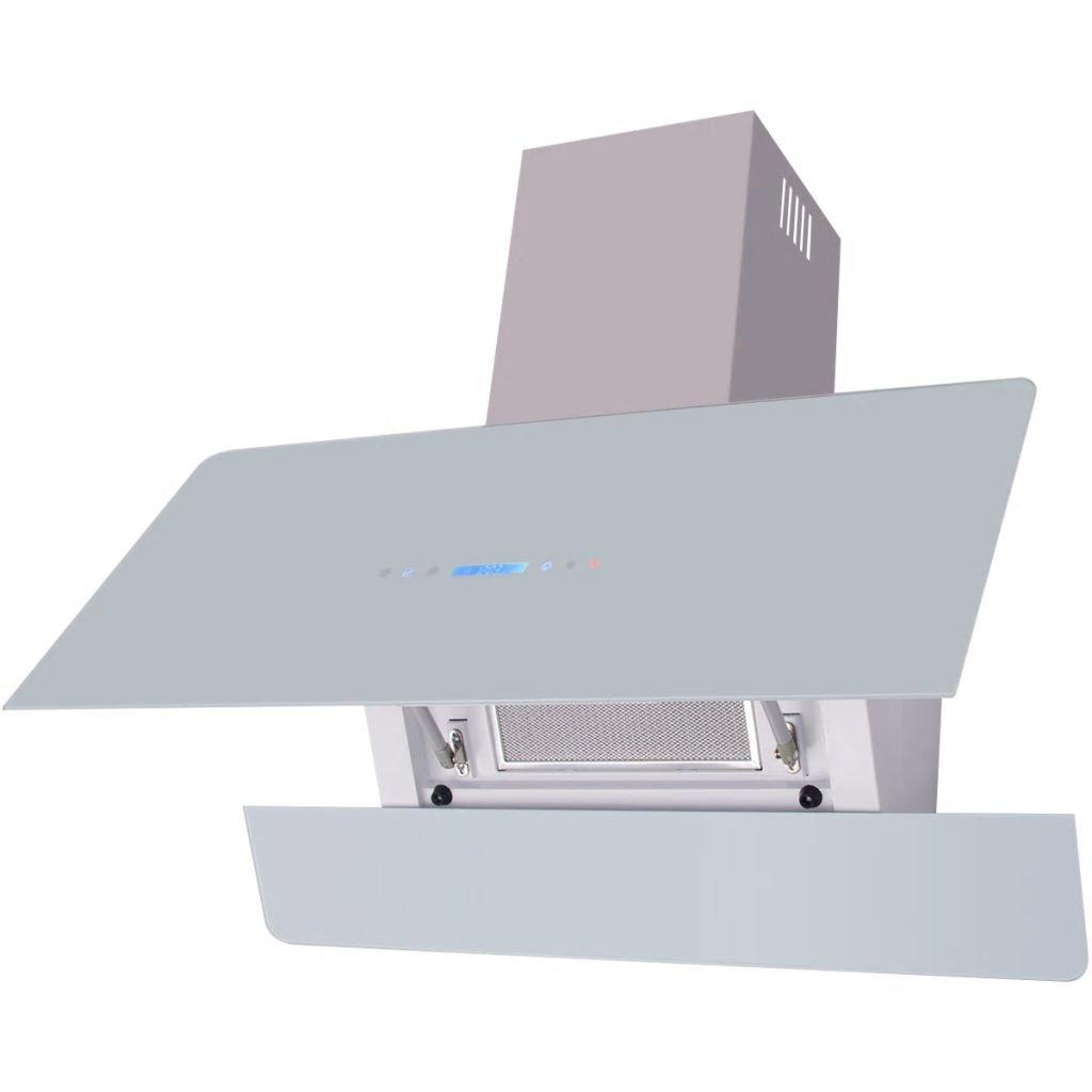 mewmewcat Campana Extractora con Pantalla Táctil Color Blanca 900 x 378 x 840 mm: Amazon.es: Deportes y aire libre