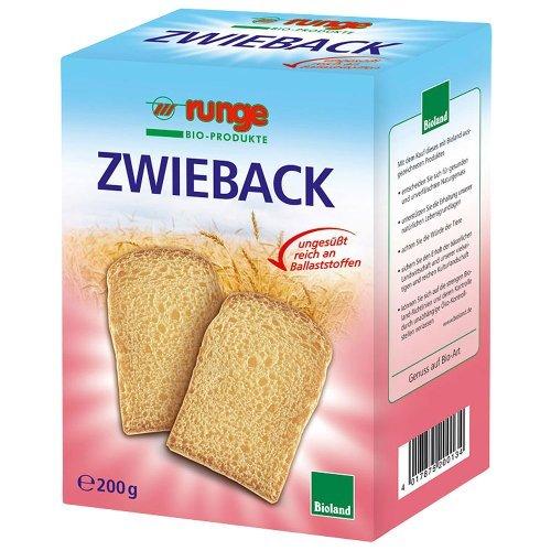 runge Bio Zwieback (1 x 200 gr)