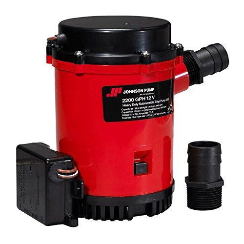 Johnson Pumps Bomba automática 2200 con Interruptor electromagnético, 24 V