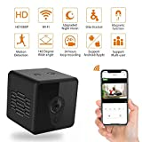 Mini Spy Camera Wireless Hidden, Jayol HD 1080P Spy Hidden Camera Upgraded Night