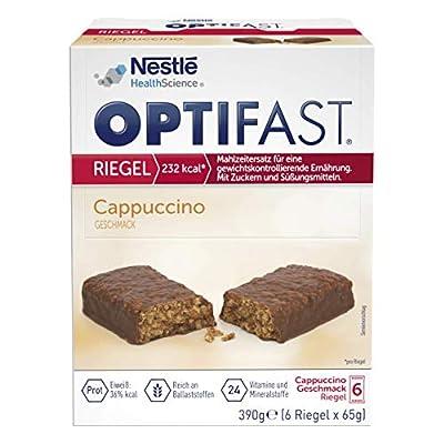 OPTIFAST Riegel Cappucino 6x65g