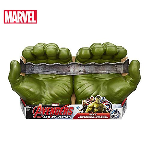 Marvel Avengers Hulk Gamma Grip Green Fists Collection Action Figure Marvel Legends Hot Toys for Children (with Box)