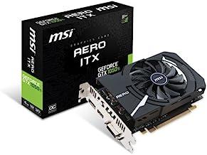 MSI GeForce GTX 1050 Ti AERO ITX 4G OC - Tarjeta Gráfica AERO