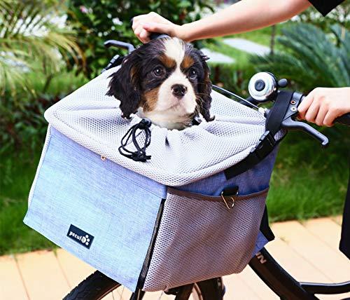 Pecute Pet Carrier Bicycle Basket Bag