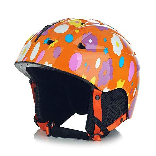 KIWG Skihelm Kinderen, Kids Skateboard Helm, Verstelbare Zachte Fluff, Outdoor Veiligheid Helm Rolschaatsen, Skiën, Schaatsen, 3-8 Jaar oud