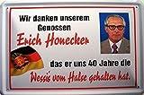 Schatzmix 5-FA1433 Blechschild, Blech, Mehrfarbig, 20x30 cm