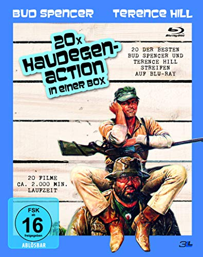 Bud Spencer & Terence Hill BOX - 20 x Haudegen-Action [Blu-ray]