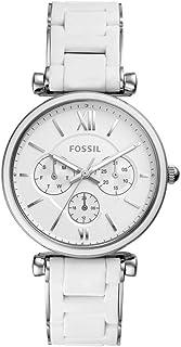 Reloj Fossil Carlie para Mujer 38mm, pulsera de Acero Inoxidable