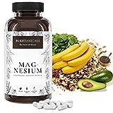 Capsulas de Magnesio - Alta Dosis - 400mg de Magnesium ELEMENTAL (puro), 664mg en Polvo, Probadas en Laboratorio - Sin Estearato de Magnesio, Vegano Producido en Alemania, Pack Anual 365 Unidades