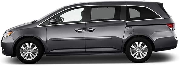 Dawn Enterprises CF2-ODYSSEY11 Chromeline Body Side Molding Compatible with Honda Odyssey - Dark Cherry Pearl (R529P)