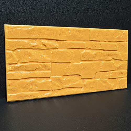 3D Zelfklevende Muursticker, 10mm Anti-botsing Verdikt Behang Peel En Stick, Thuis Interieur Wanddecoratie Wandplank, Gebruikt Voor Woonkamer, Slaapkamer, TV Achtergrond Muur 10 tablets #7