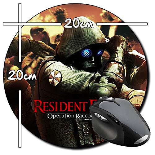 Resident Evil Operation Raccoon City B Rund Mauspad Round Mousepad PC