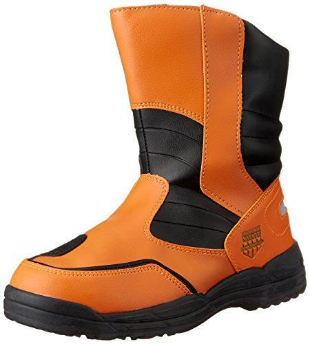 [マルゴ] 安全靴 作業靴 鋼製先芯 反射素材 ブーツ ハイカットセーフティー 170 OR 24.5 cm