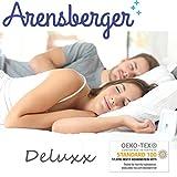 Arensberger ® Deluxx 9 Zonen Taschen-Federkern Matratze mit 3D-Memory Foam, Höhe 30 cm, 180 x 200 cm, Visco & Kaltschaum - 5