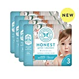 The Honest Company Baby Diapers with TrueAbsorb Technology, Tree Houses, Size 3, 108 Count