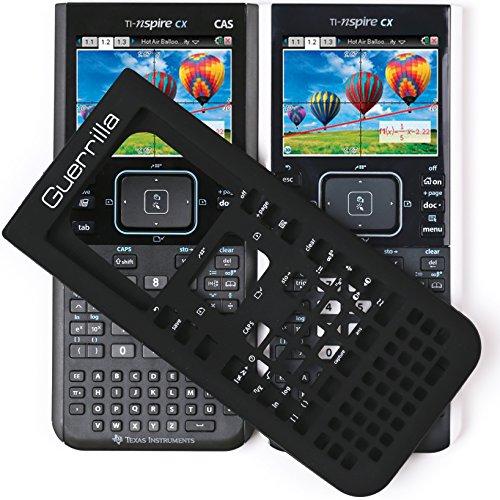 Guerrilla Silicone Case for Texas Instruments TI Nspire CX/CX CAS Graphing Calculator, Black Photo #5