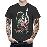Photo de Eddie Van Halen New T-Shirt Men's Black Tee Size S to 3XL