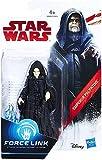 Star Wars Force Link Paquete de figuras triples: Emperador Palpatine, soldado de tormenta de primera orden y flametrooper