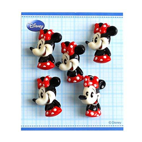 パイオニア ボタン ディズニー ミニーマウス DI200-DI85 レッド