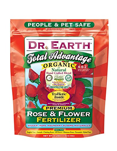 Dr. Earth Total Advantage Organic Fertilizer for Rose and Flower