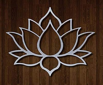Master Cut Metal Wall Art Hanging Lotus MC-W111 from S.R. Industries