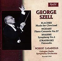 Blacher: Music for Cleveland / Mozart: Piano Concerto No. 27 / Brahms: Symphony No. 2 / Stravinsky: Fireworks