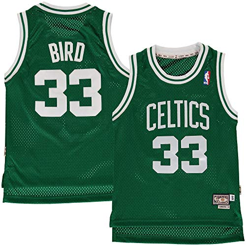 Outerstuff Youth Larry Bird Boston Celtics Green Hardwood Classic Jersey (Youth X-Large)