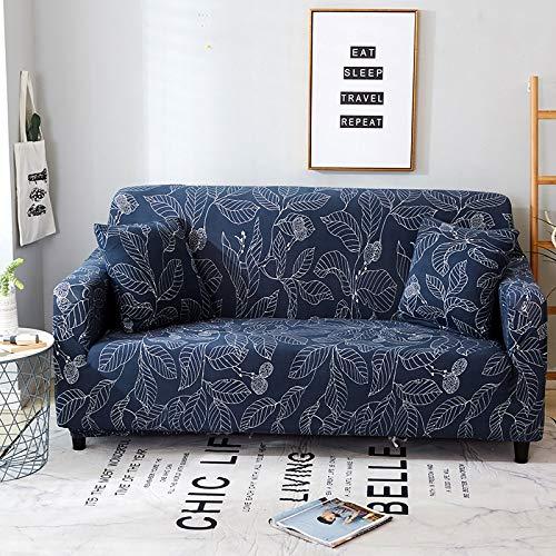 PPMP Funda de sofá de protección para Muebles, Utilizada en la Sala de Estar, Funda de sofá de Esquina, Funda de sofá, Funda de sofá elástica antiincrustante A26, 3 plazas
