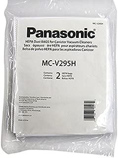 Panasonic MC-V295H Type C-19 Canister HEPA Vacuum Bag, Pack of 2