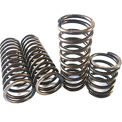 metallo pesante diametro della bobina di compressione della molla di filo 5mm * 35 40 45 50mm di diametro esterno * lunghezza 60-200mm, Cina, lunghezza 200mm, 5,0mm 50mm