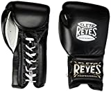 Cleto Reyes Lace Boxing Training Gloves, 16 oz., Black