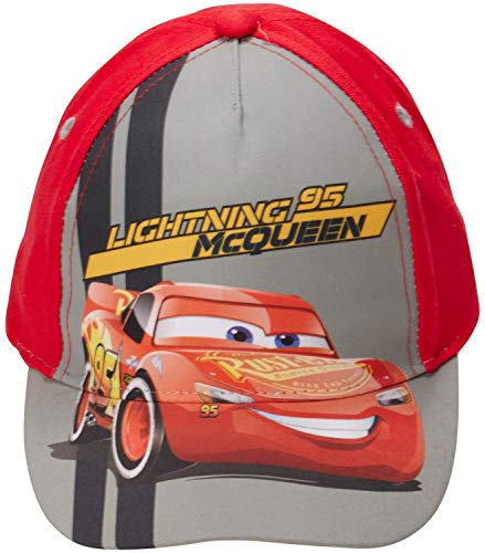Disney Boys Cars Lightning McQueen Cotton Baseball Cap