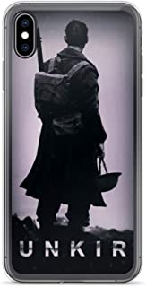 iPhone X/XS Case Anti-Scratch Motion Picture Transparent Cases Cover Dunkirk Black and White Movies Video Film Crystal Clear