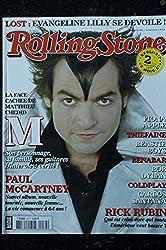 ROLLING STONE 034 NOVEMBRE 2005 COVER M MATTHIEU CHEDID PAUL MCCARTNEY BENABAR COLDPLAY RUBIN RICK