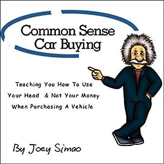 Common Sense Car Buying audiobook cover art