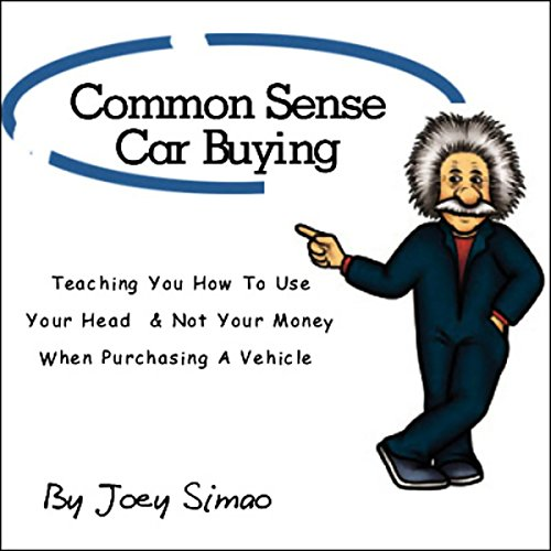 Common Sense Car Buying audiobook cover art