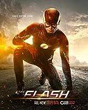 Reach World Poster The Flash Barry Allen Superhero, 12 x 12