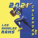 Los Angeles Rams: 2021-2022 calendar - 24 months - 8.5 x 8.5 glossy paper