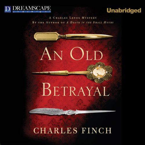 An Old Betrayal audiobook cover art